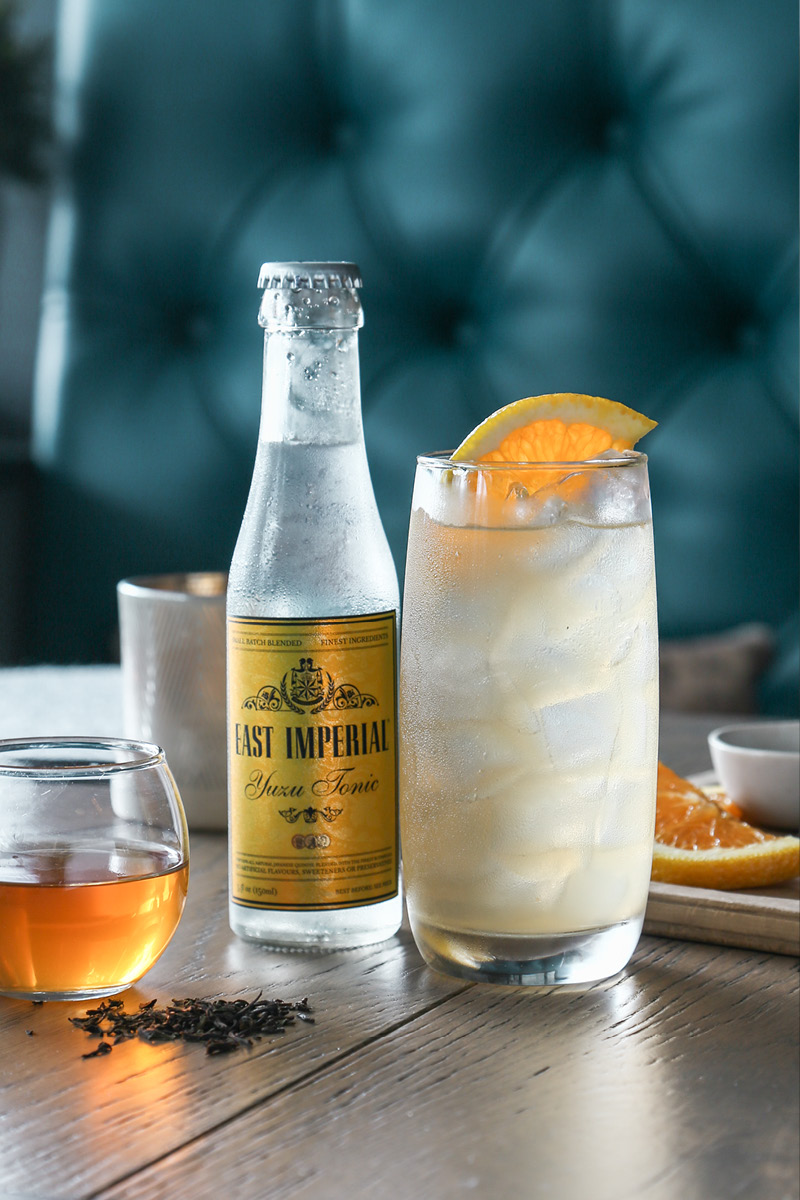 East Imperial tonic water editorial photography shot by Sheryl Burson for NZ Life